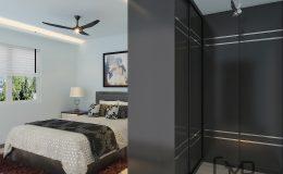 3 master bedroom